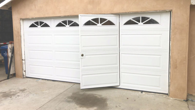 Pilot Door Garage Door slide